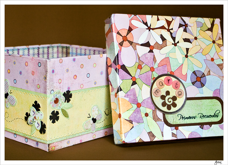 caja para bebé