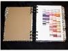 cuaderno de trabajo con Copic