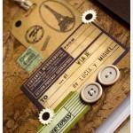 adorno de la portada del cuaderno de viaje